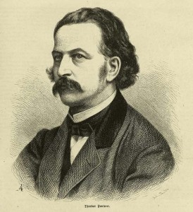 Theodor Fontane um 1860